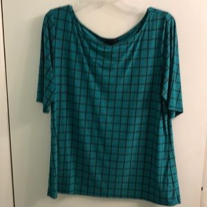 The Limited Teal Top